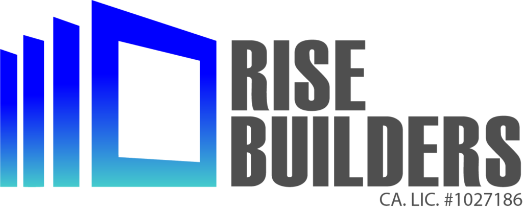 Rise Builders Logo- Grey Letters
